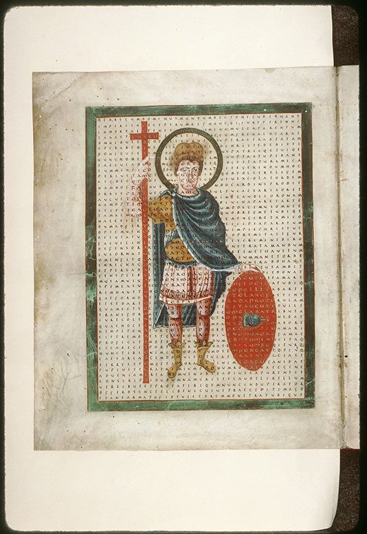 Laudibus sanctae Crucis (De) - Louis Ier le Pieux_0