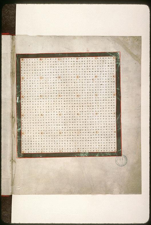 Laudibus sanctae Crucis (De) - Signature de Raban Maur_0