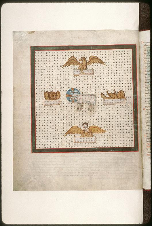 Laudibus sanctae Crucis (De) - Agneau entouré du Tétramorphe (L')_0