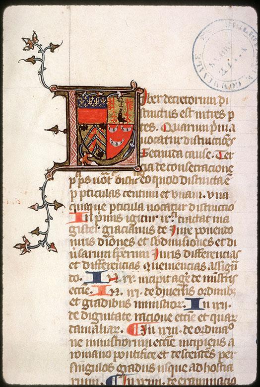 Decretum - Armes d'Etienne de Conty_0