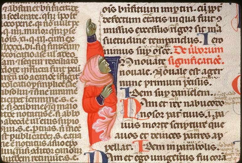 Decretales - Homme désignant le texte_0