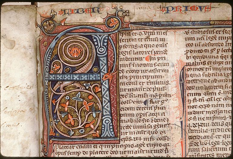Summa super titulis Decretalium - Initiale ornée_0