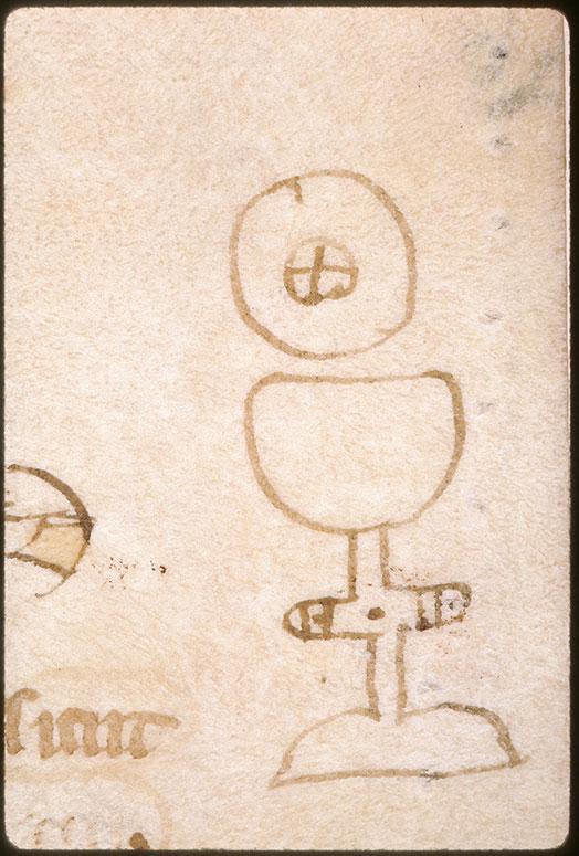 Summa super titulis Decretalium - Calice et hostie_0