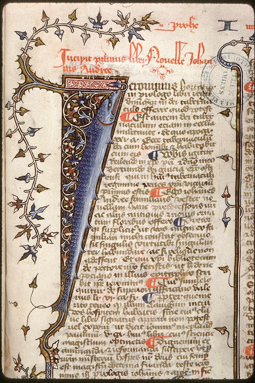 Novella in Decretales Gregorii VIIII - Poisson_0
