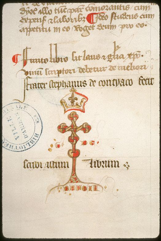 Distinctiones in Decretales Gregorii IX - Seing de Guillaume de Breuil_0