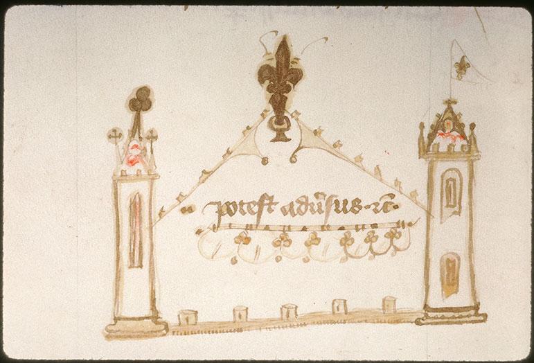 Distinctiones in Decretales Gregorii IX - Architecture_0
