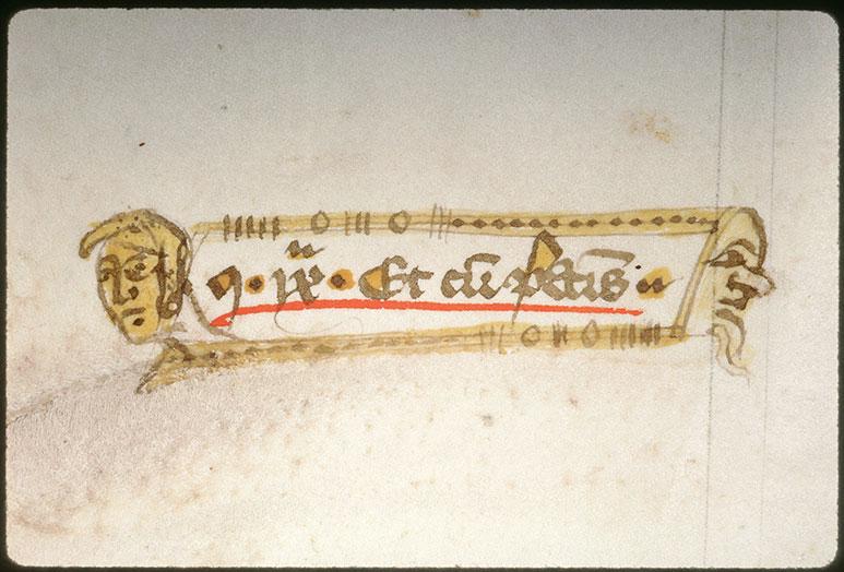 Distinctiones in Decretales Gregorii IX - Têtes d'hommes_0