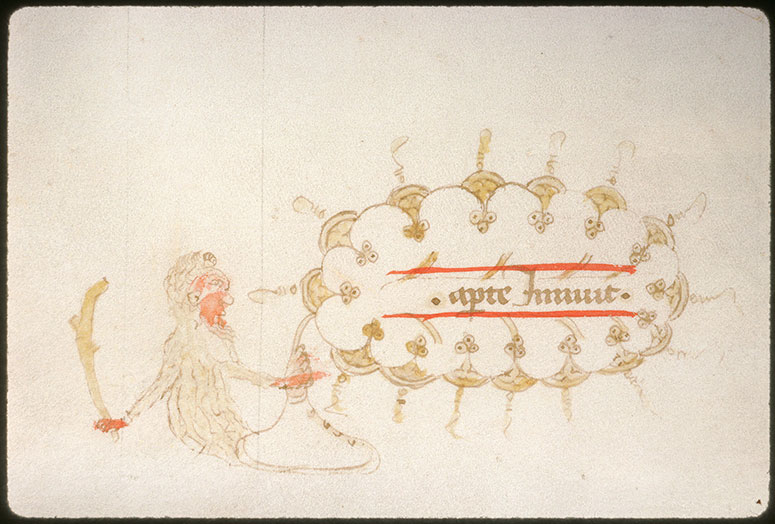 Distinctiones in Decretales Gregorii IX - Homme sauvage_0
