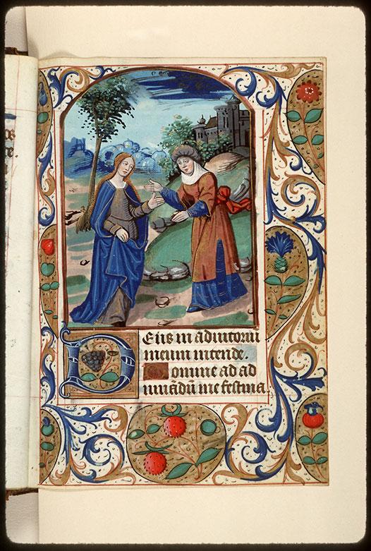 Heures à l'usage d'Amiens - Page décorée_0