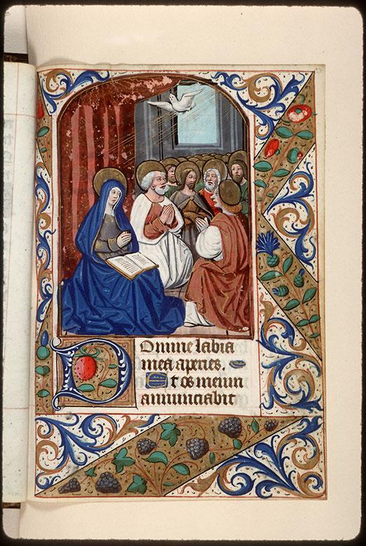 Heures à l'usage d'Amiens - Pentecôte_0