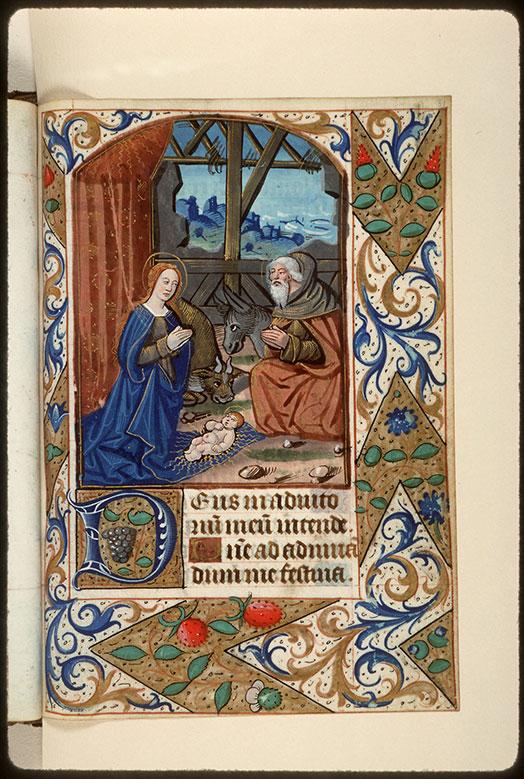 Heures à l'usage d'Amiens - Nativité_0