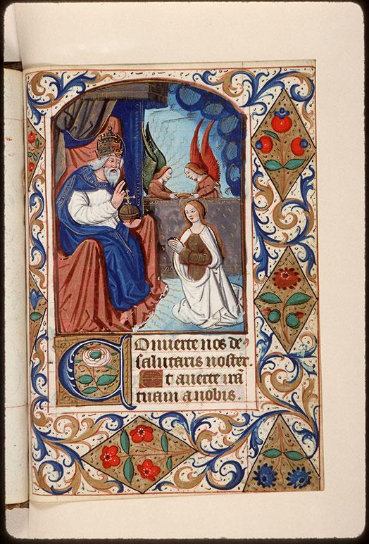 Heures à l'usage d'Amiens - Couronnement de la Vierge_0