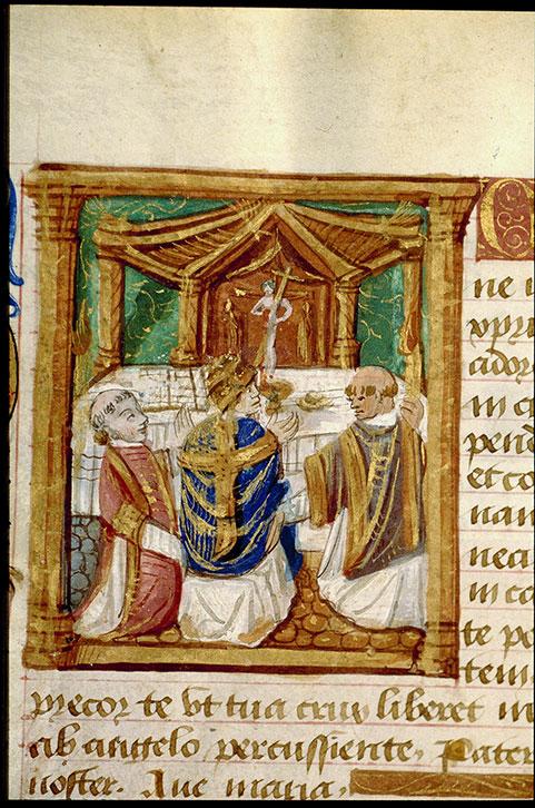 Heures à l'usage de Cluny - Messe de saint Grégoire_0