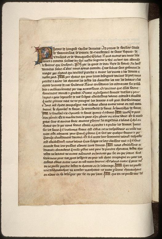 Cartulaire de la ville d'Amiens - Aigle bicéphale_0