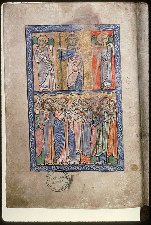 Psautier-hymnaire à l'usage de l'abbaye Saint-Fuscien-aux-Bois - Ascension_0