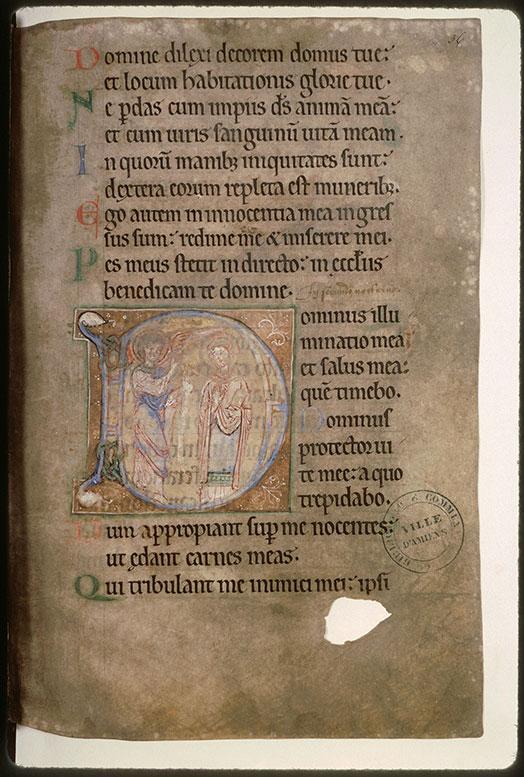 Psautier-hymnaire à l'usage de l'abbaye Saint-Fuscien-aux-Bois - Annonciation_0