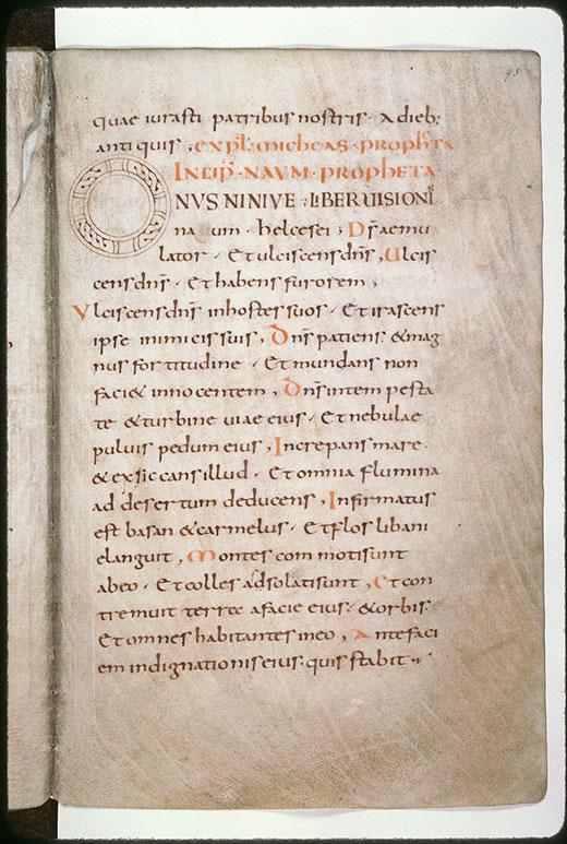 Bible - Initiale ornée_0