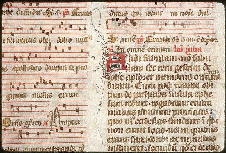 Bréviaire à l'usage de l'abbaye Saint-Pierre de Corbie - Initiale filigranée_0