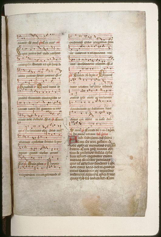 Bréviaire à l'usage de l'abbaye Saint-Pierre de Corbie