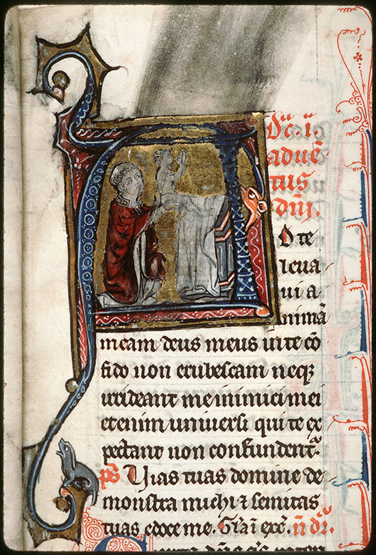 Missel à l'usage de l'abbaye Saint-Pierre de Corbie - Offrande de l'âme_0