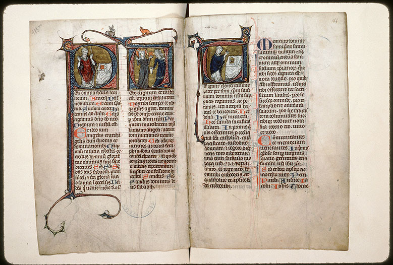 Missel à l'usage de l'abbaye Saint-Pierre de Corbie - Eglise et la Synagogue (L')_0