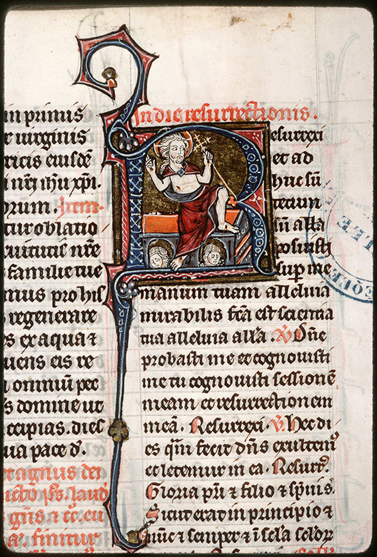 Missel à l'usage de l'abbaye Saint-Pierre de Corbie - Résurrection du Christ_0