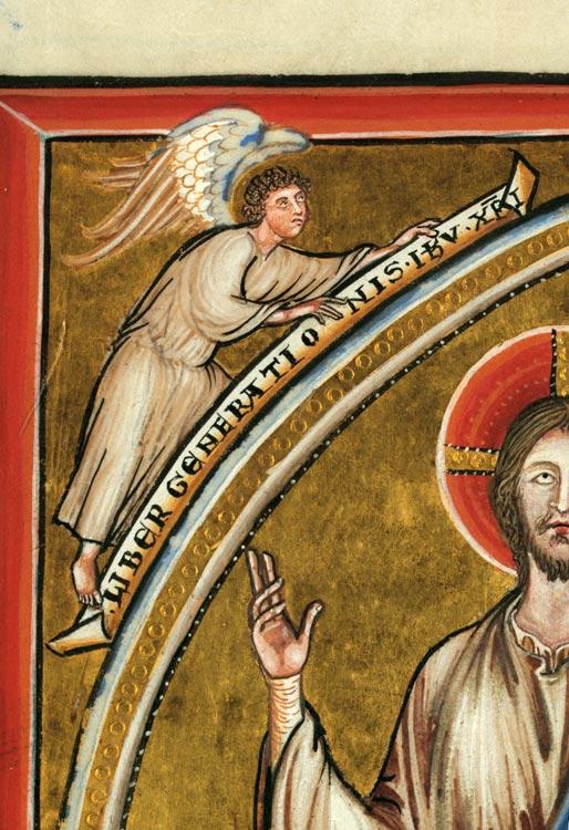 Missel à l'usage de l'abbaye d'Anchin - Christ en majesté_0