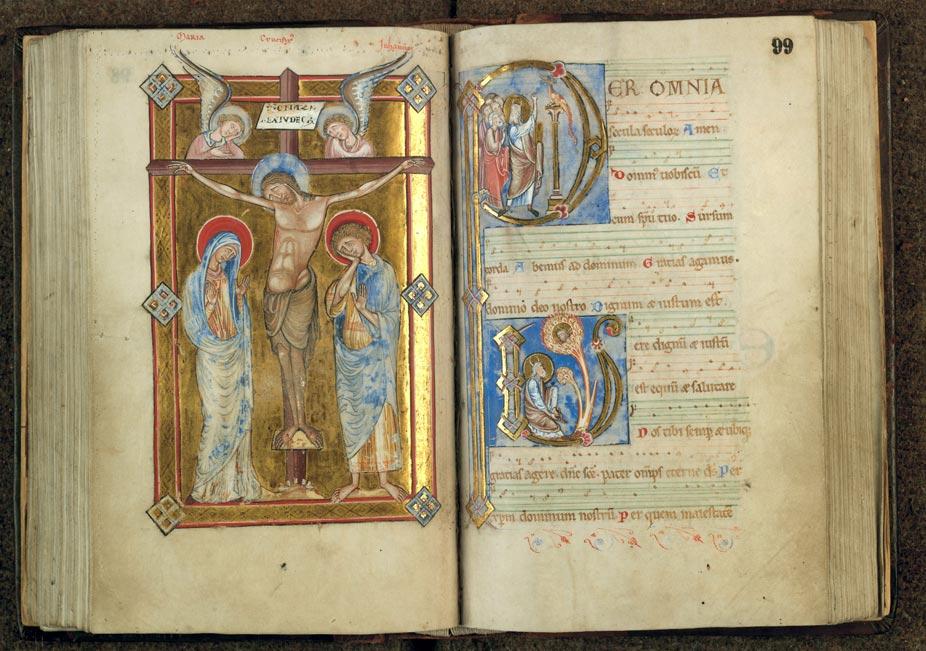 Missel à l'usage de l'abbaye d'Anchin - Buisson ardent (Le)_0