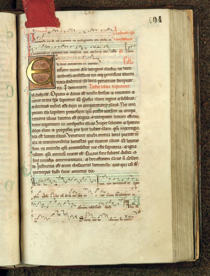 Missel à l'usage de l'abbaye d'Anchin - Initiale champie_0