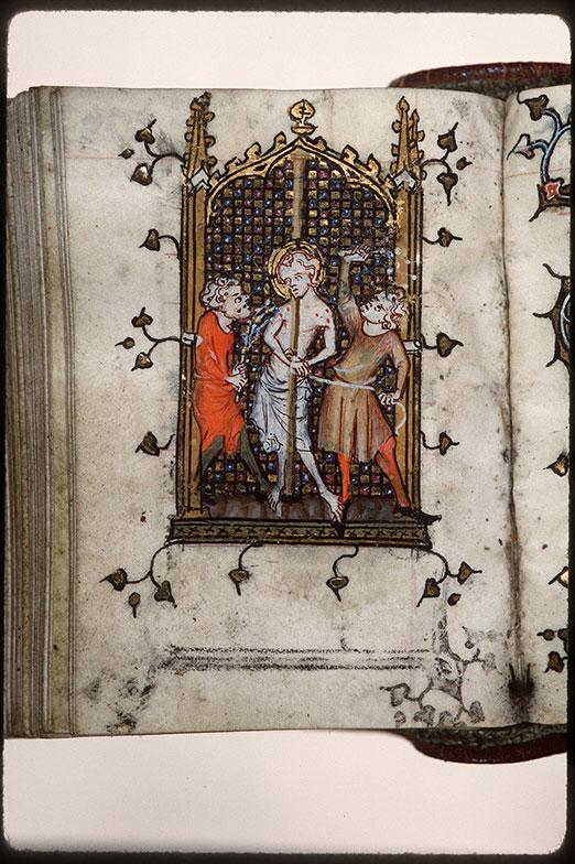 Heures à l'usage d'Amiens - Flagellation du Christ_0