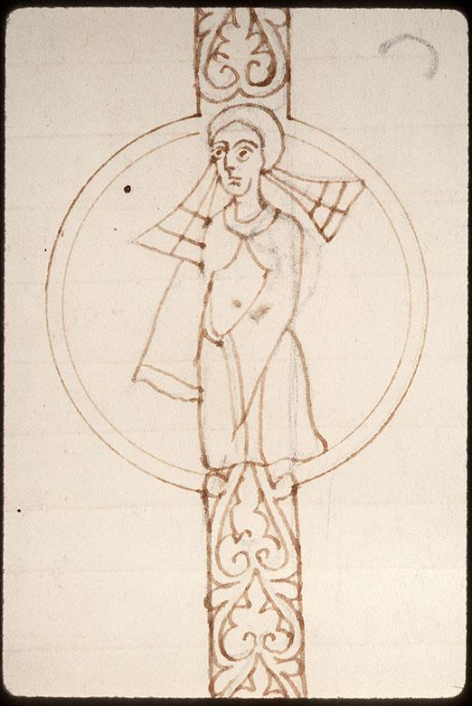 Evangiles - Homme nu dans des végétaux/Prêtre (à préciser)/Saint (à préciser)_0