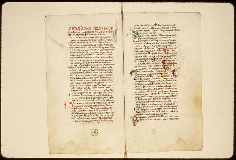 Evangiles - Ecriture d'apparat_0