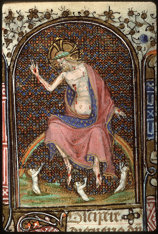 Heures à l'usage de Troyes - Résurrection des morts_0