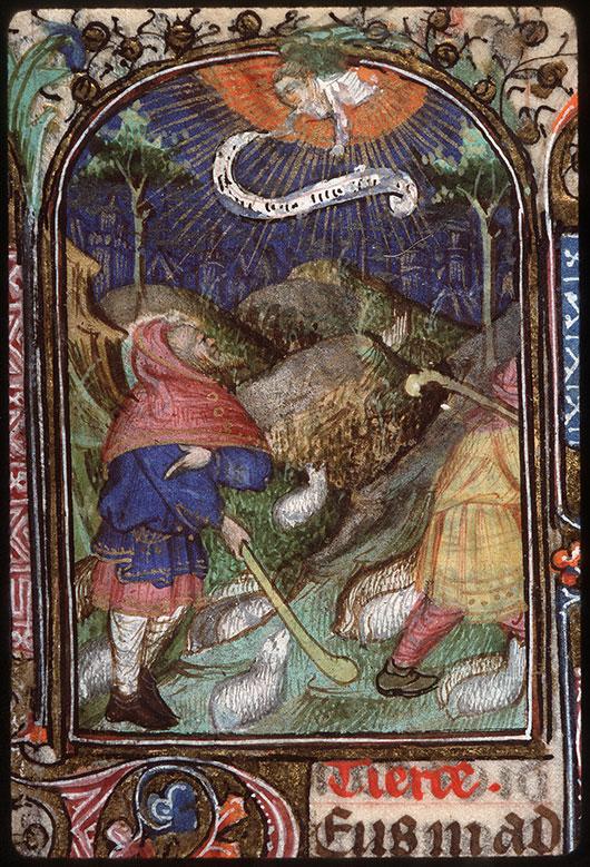 Heures à l'usage de Troyes - Annonce aux bergers_0