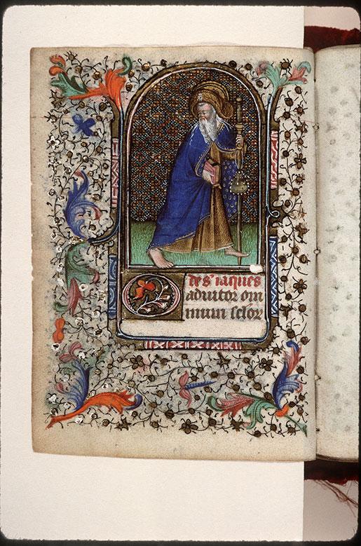 Heures à l'usage de Troyes - Saint Jacques le Majeur en pèlerin_0