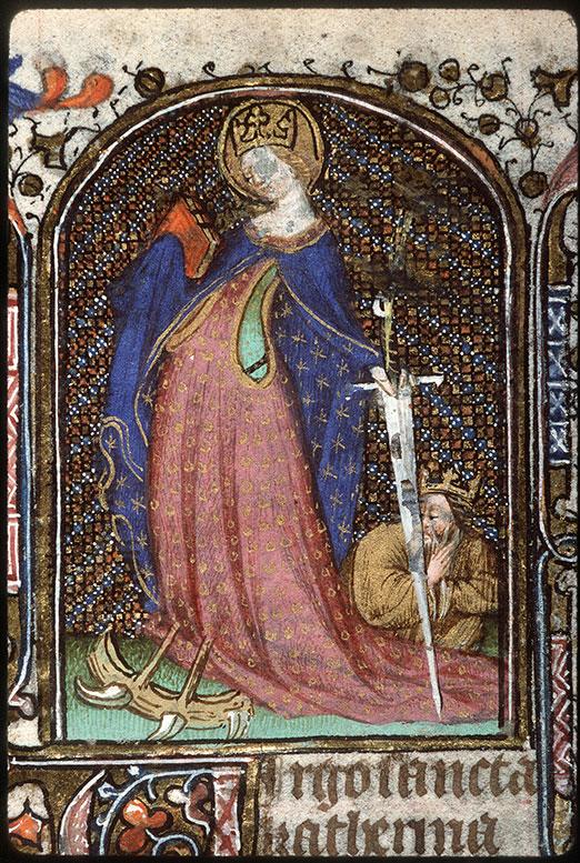 Heures à l'usage de Troyes - Sainte Catherine_0
