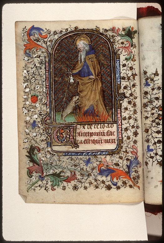 Heures à l'usage de Troyes - Saint Antoine abbé_0