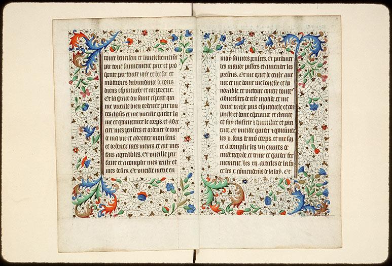 Heures à l'usage de Rome - Pages décorées_0