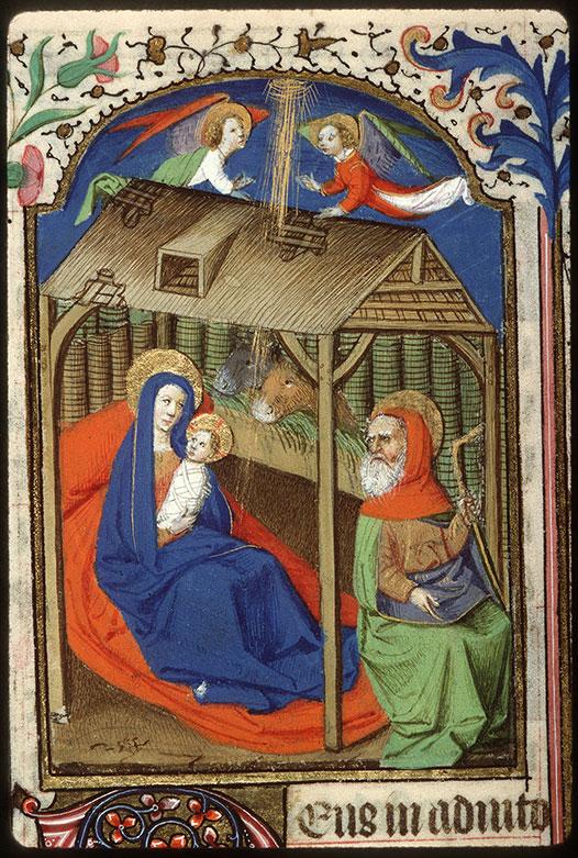 Heures à l'usage de Rome - Nativité_0
