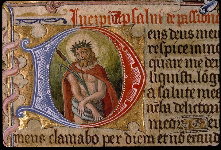 Psautier-heures - Christ au roseau_0