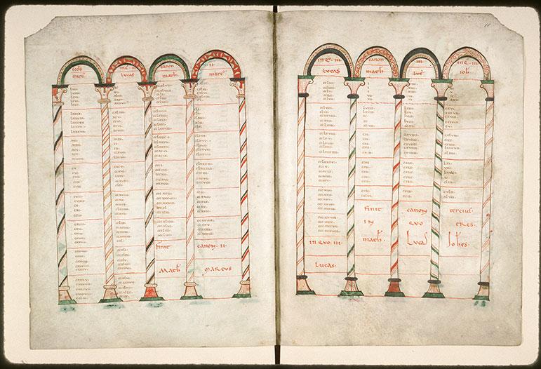 Evangiles - Pages décorées_0
