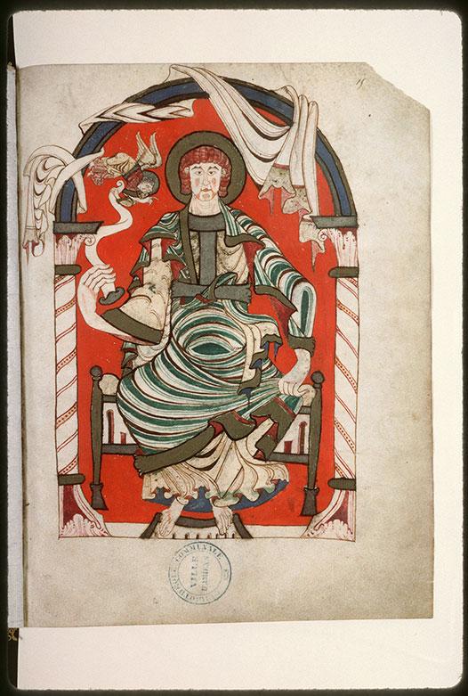 Evangiles - Saint Matthieu recevant l'Evangile de son symbole_0