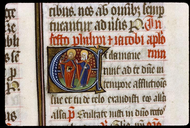 Missel romain - Saint Philippe et saint Jacques_0