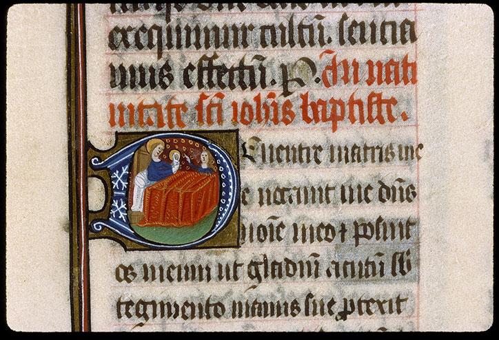 Missel romain - Naissance de saint Jean-Baptiste_0