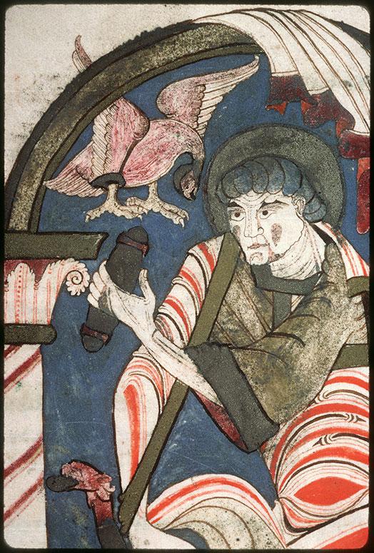 Evangiles - Saint Jean recevant l'Evangile de son symbole_0