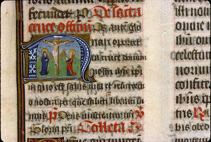 Missel romain - Christ en croix entre Marie et Jean_0