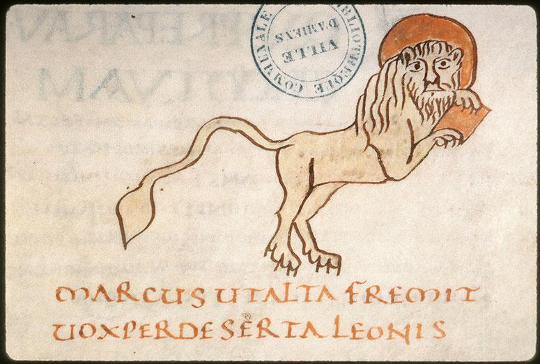 Evangiles - Lion de saint Marc_0