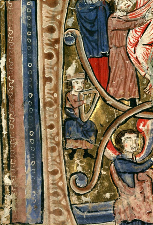 Psautier à l'usage de la collégiale Saint-Pierre de Lille