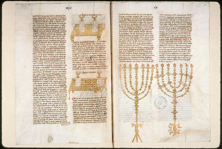 Postilla in Bibliam - Chandelier à sept branches (Le)_0
