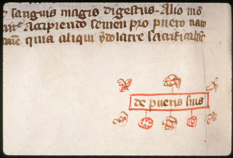 Postilla in Bibliam - Cartouche orné_0